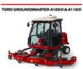 Thumbnail TORO GROUNDSMASTER 4100-D & 4110-D ROTARY MOWER MANUAL