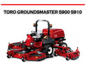 Thumbnail TORO GROUNDSMASTER 5900 5910 ROTARY MOWER REPAIR MANUAL