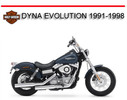 Thumbnail HD DYNA EVOLUTION 1991-1998 REPAIR WORKSHOP SERVICE MANUAL