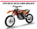 Thumbnail KTM 250 SX 250 SX-F BIKE 2004-2010 WORKSHOP REPAIR MANUAL