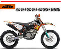 Thumbnail KTM 450 SX-F 505 SX-F 450 SXS-F ENGINE REPAIR MANUAL