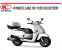 Thumbnail KYMCO LIKE 50 1125 SCOOTER REPAIR SERVICE MANUAL