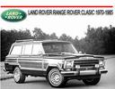 Thumbnail LAND ROVER RANGE ROVER CLASIC 1970-1985 REPAIR MANUAL