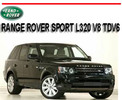 Thumbnail RANGE ROVER SPORT L320 V8 TDV6 2005-2012 REPAIR MANUAL