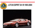 Thumbnail LOTUS ESPRIT S4 V8 1993-2004 REPAIR SERVICE AND PARTS MANUAL