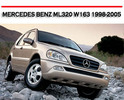 Thumbnail MERCEDES BENZ ML320 W163 1998-2005 WORKSHOP REPAIR MANUAL
