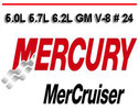 Thumbnail MERCURY MERCRUISER 5.0L 5.7L 6.2L GM V-8 # 24 REPAIR MANUAL