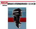 Thumbnail MERCURY MERCRUISER BRAVO STERNDRIVES 1 2 3 # 28 MANUAL