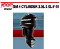 Thumbnail MERCURY MERCRUISER GM 4 CYLINDER 2.5L 3.0L # 10 MANUAL