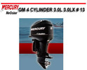 Thumbnail MERCURY MERCRUISER GM 4 CYLINDER 3.0L 3.0LX # 13 MANUAL