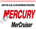 Thumbnail MERCURY MERCRUISER GM V6 4.3L #18 MARINE ENGINE MANUAL