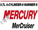 Thumbnail MERCURY MERCRUISER MARINE 3.7L 4-CYLINDER # NUMBER 8 MANUAL