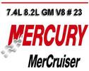 Thumbnail MERCURY MERCRUISER MARINE 7.4L 8.2L GM V8 # 23 MANUAL