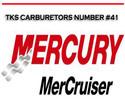 Thumbnail MERCURY MERCRUISER TKS CARBURETORS NUMBER #41 REPAIR MANUAL