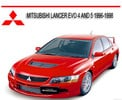 Thumbnail MITSUBISHI LANCER EVO 4 AND 5 1996-1998 REPAIR MANUAL