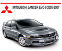 Thumbnail MITSUBISHI LANCER EVO 9 2005-2007 REPAIR SERVICE MANUAL