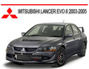 Thumbnail MITSUBISHI LANCER EVO 8 2003-2005 REPAIR SERVICE MANUAL