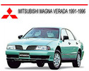 Thumbnail MITSUBISHI MAGNA VERADA 1991-1996 REPAIR SERVICE MANUAL