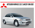 Thumbnail MITSUBISHI MIRAGE COLT LANCER 1996-2002 REPAIR MANUAL