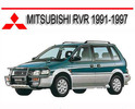 Thumbnail MITSUBISHI RVR 1991-1997 REPAIR SERVICE MANUAL
