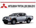 Thumbnail MITSUBISHI TRITON L200 2006-2010 REPAIR SERVICE MANUAL