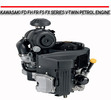 Thumbnail KAWASAKI FD FH FR FS FX SERIES V-TWIN PETROL ENGINE MANUAL