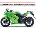 Thumbnail KAWASAKI NINJA 250R EX250J 2008-2012 BIKE REPAIR MANUAL