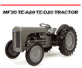 Thumbnail MASSEY FERGUSON MF35 TE-A20 TE-D20 TRACTOR REPAIR MANUAL