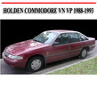 Thumbnail HOLDEN COMMODORE VN VP 1988-1993 SERVICE REPAIR MANUAL