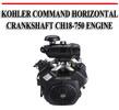 Thumbnail KOHLER COMMAND HORIZONTAL CRANKSHAFT CH18-750 ENGINE MANUAL