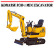 Thumbnail KOMATSU PC09-1 MINI EXCAVATOR REPAIR MANUAL