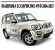 Thumbnail MAHINDRA SCORPIO 2WD 4WD 2006-2013 REPAIR MANUAL