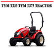 Thumbnail TYM T233 TYM T273 TRACTOR WORKSHOP SERVICE REPAIR MANUAL