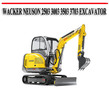 Thumbnail WACKER NEUSON 2503 3003 3503 3703 EXCAVATOR REPAIR MANUAL