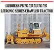 Thumbnail LIEBHERR PR 712 722 732 742 752 LITRONIC SERIES CRAWLER TRAC