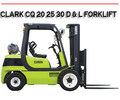 Thumbnail CQ 20 25 30 D & L COMBUSTION FORKLIFT WORKSHOP REPAIR MANUAL