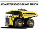 Thumbnail 930E-3 DUMP TRUCK WORKSHOP SERVICE REPAIR & OPERATION MANUAL