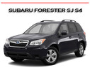Thumbnail FORESTER SJ S4 2013-2015 WORKSHOP SERVICE REPAIR MANUAL