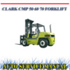 Thumbnail CLARK CMP 50 60 70 FORKLIFT TRUCK WORKSHOP SERVICE MANUAL