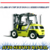 Thumbnail CLARK SF CMP 20 25 30 D G L SERIES FORKLIFT WORKSHOP MANUAL