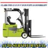 Thumbnail CLARK TMX 12 13 15 17 18 20 25 EPX 16 18 WORKSHOP MANUAL