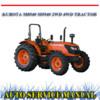 Thumbnail KUBOTA M8540 M9540 2WD 4WD TRACTOR WORKSHOP SERVICE MANUAL
