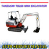 Thumbnail TAKEUCHI TB228 MINI EXCAVATOR WORKSHOP SERVICE REPAIR MANUAL
