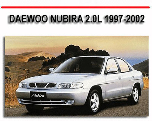 Daewoo Nubira 2 0l 1997-2002 Repair Service Manual