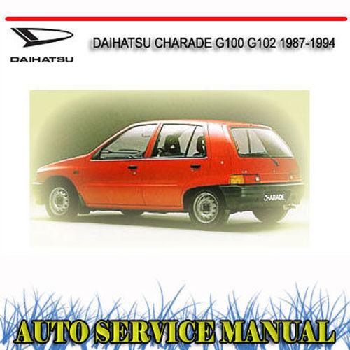 Daihatsu Charade G100 G102 1987