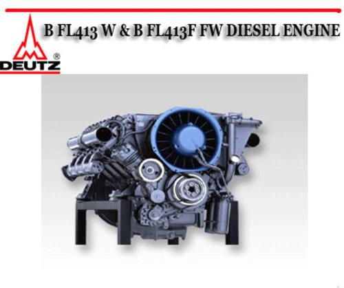 deutz b fl413 w   b fl413f fw diesel engine repair service down deutz engine service manual deutz engine service manual