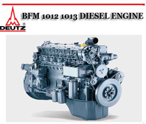 Deutz 3 Cylinder Diesel Shop Manual