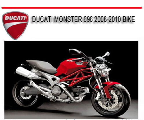 ducati monster 696 2008 2010 bike repair service manual download rh tradebit com ducati monster 796 service manual download ducati monster 696 shop manual