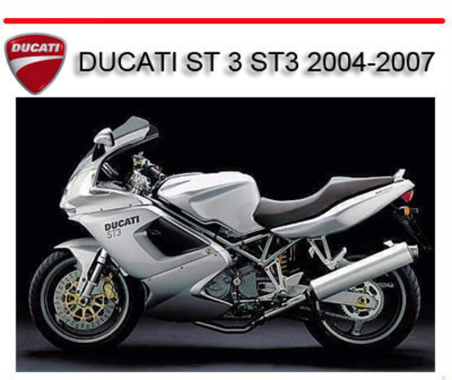 ducati st 3 st3 2004 2007 bike repair service manual. Black Bedroom Furniture Sets. Home Design Ideas