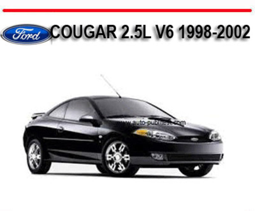 ford cougar 2 5l v6 1998 2002 workshop service repair manual down rh tradebit com 1978 Ford Cougar Blue Gray 1998 Green Ford Cougar 2 Door